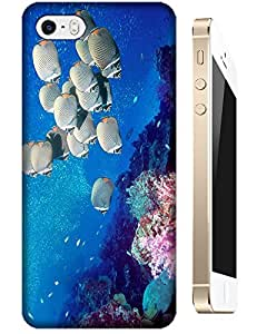 Undersea world beautiful Scenery fishs Coral cell phone cases for Apple Accessories iPhone 4/4S