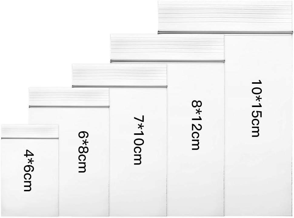 Tutte le taglie Borse richiudibili 4x6cm