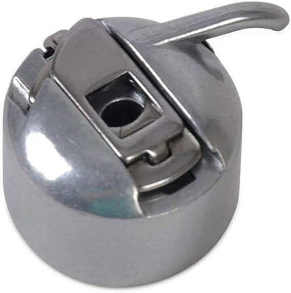 Guajave 1/3 Pzas Metal Máquina de Coser Caja de la Canilla para Brother Janome Elna Bernina Singer - 1 Pieza: Amazon.es: Hogar