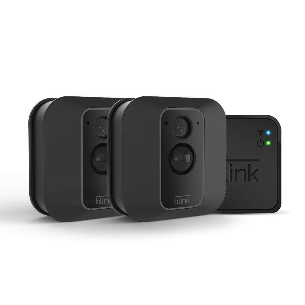 All-new Blink XT2 Outdoor/Indoor Smart Security Camera with cloud storage included, 2-way audio, 2-year battery life - 2 camera kit by Blink Home Security