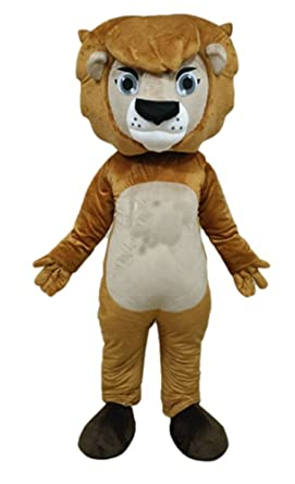 3c26119a3 Image Unavailable. Image not available for. Color: ARISMASCOTS Lion Mascot  Costume Deguisement Mascotte Custom Mascots Professional Team ...