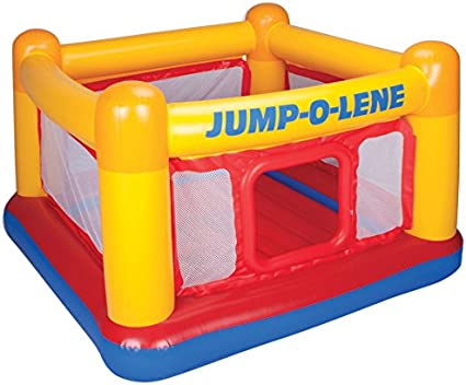 "Amazon.com: Castillo inflable ""Jump-o-lene"" de ..."