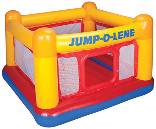 - Intex Playhouse Jump-O-Lene Inflatable Bouncer, 68
