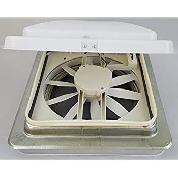 Rv Roof Vent Vortex 3 12 Volt Powered Fan