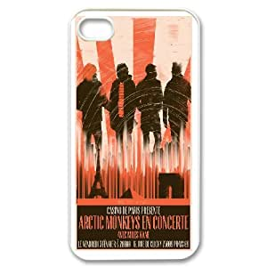 Arctic Monkeys For iPhone 4,4S Csae protection phone Case ST080338