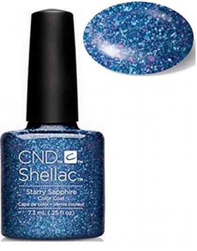 CND Shellac Nail Gel, Starry Sapphire CNDNEWCAT247