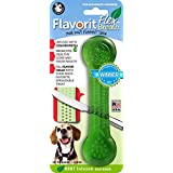 Pet Qwerks Flavorit-Breath/Mint Flavored Flex Bone for Moderate Chewers Large