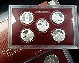 2010 S US Mint 14-coin Silver Proof Set Box & COA