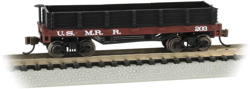 Old-Time Gondola Car U.S. Military Railroad - N Scale