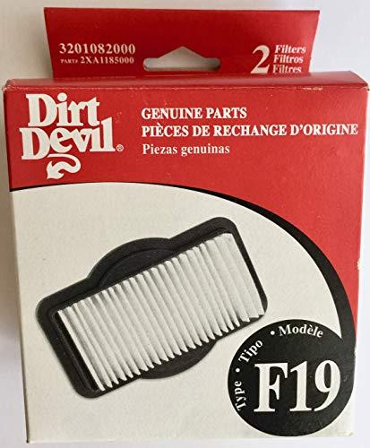 Broom Vac Filter - Dirt Devil 3-201082-000 Vacuum Cleaner Filter Broom Vac F19 (2)