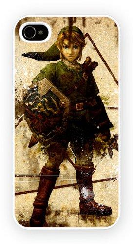 Legend of Zelda, iPhone 4 4S, Etui de téléphone mobile - encre brillant impression