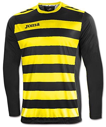 Manica Joma Lunga Maglia Uomo giallo Europa Multicolore Ii nero qwFF16a