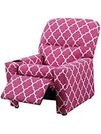 Simple Comfy Chairs For Kids Upholstered Recliner Children Sofa With Cup Holder Under 50 On Design Ideas