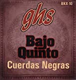 GHS BKX-10 Bajo Quinto - Black coated Stainless Steel 10-string