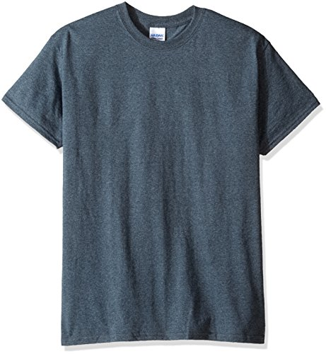 Dark Heather Ultra Cotton - Gildan Men's Ultra Cotton Tee, Dark Heather, XX-Large