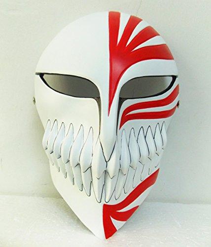 Gmasking Resin Bleach Ichigo Kurosaki Full Hollow Movie Replica+Gmask Helmet Keychain