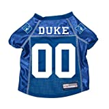 Duke Blue Devils Premium NCAA Pet Dog Jersey w/ Name Tag MEDIUM
