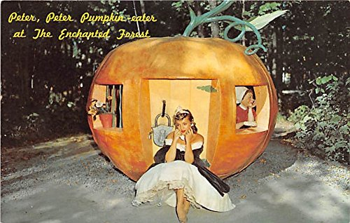 Old Forge, New York, NY, USA Postcard Peter Peter Pumpkin Eater at the Enchanted Forest Unused