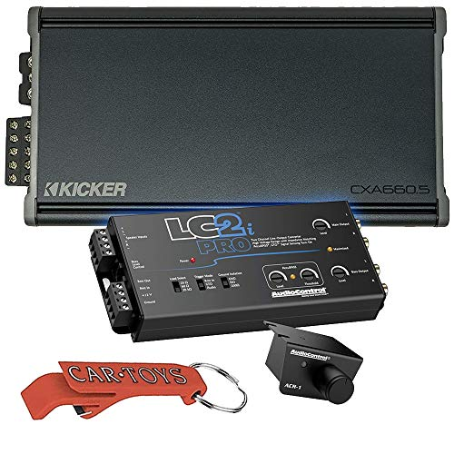 Kicker 46CXA6605 Car Audio 5 Channel Amp Speaker