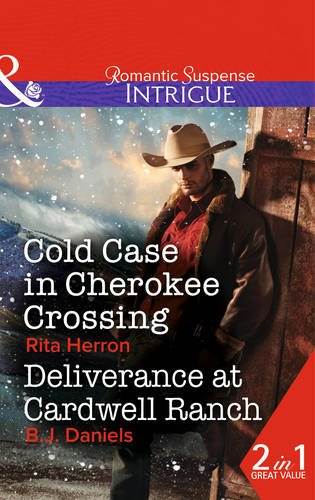 book cover of Cold Case in Cherokee Crossing /  Deliverance at Cardwell Ranch