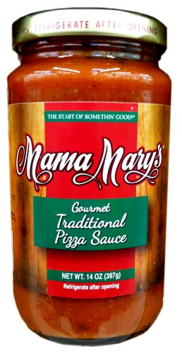 (Mama Mary's GOURMET Traditional PIZZA SAUCE 14oz (5)