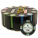 Brybelly Holdings PCS-3302R 300Ct Claysmith Gaming in.Bluff Canyon in. Chip Set in Carousel
