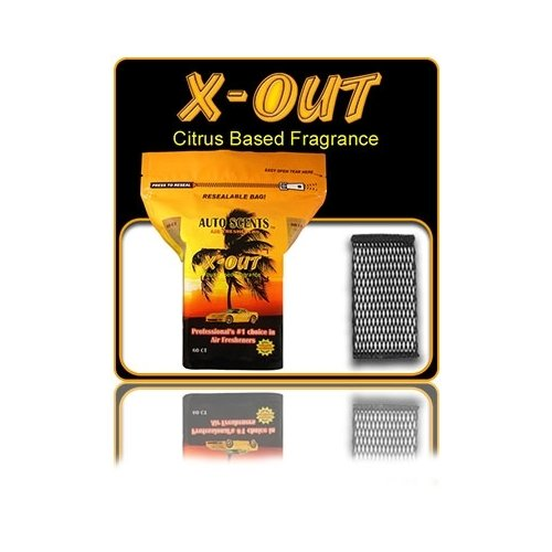 Auto Scent (X-OUT Auto Scents Air Freshener)
