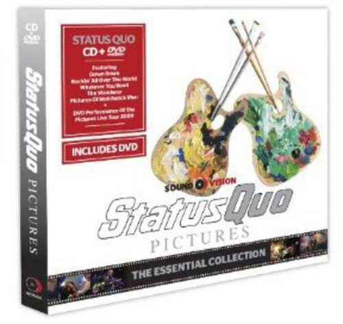 CD : STATUS QUO - Status Quo-pictures (United Kingdom - Import, Pal Region 2)