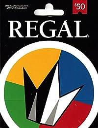 Regal Cinemas $50 Gift Card