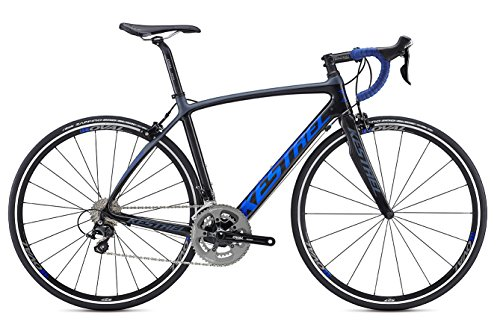 Kestrel Legend Shimano 105 Bicycle, Satin Carbon/Blue Gray, 57cm/Large