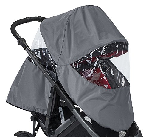 Britax 2017 B-Ready Rain Cover, Gray S03612600