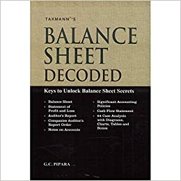 buy balance sheet decoded keys to unlock balance sheet secrets book