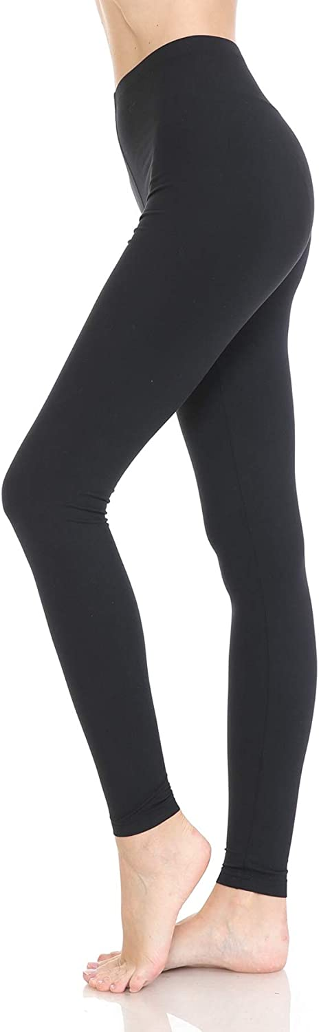 Leggings Depot Womens Premium High Waisted Active Flex Leggings /& Shorts