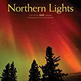 Northern Lights 2018 12 x 12 Inch Monthly Square Wall Calendar by Wyman, North Pole Nature Photographs
