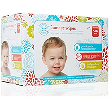Amazon Com The Honest Company Baby Wipes Pure And