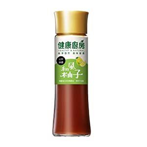 Healthy Kitchen Series Japanese Flavor DressingGrapefruit Flavor 200ml 健康廚房和風柚子沾拌淋醬200ml