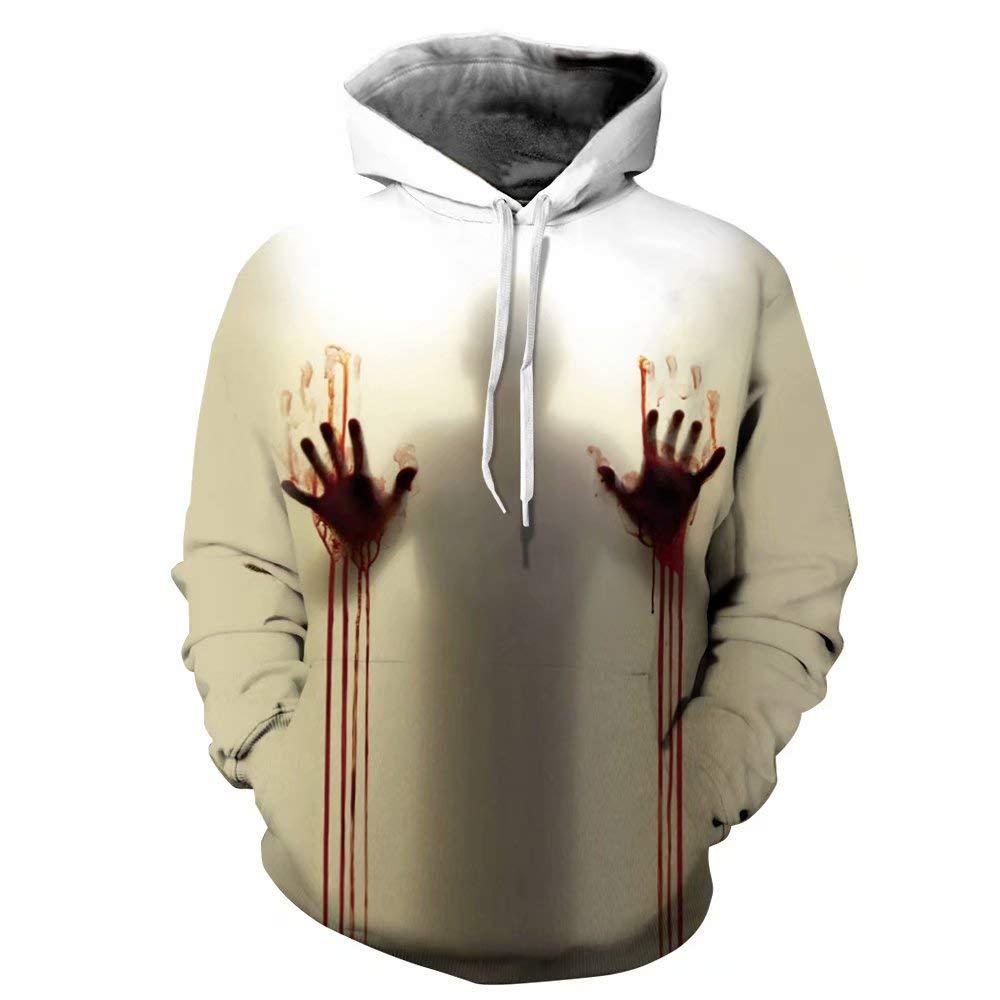 U LOOK UGLY TODAY 3D Digital Printng Hoodie Sweatshirt, Big Pockets