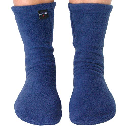 Polar Feet Adults' Fleece Socks (W 10-11, M 9-11) -