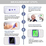 Non Contact Thermometer, Forehead Thermometer for