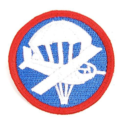 U.S. WWII Garrison Cap Badge Patch- Paratrooper Glider ()