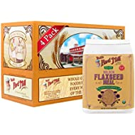 Bob's Red Mill Organic Golden Flaxseed Meal, 32-ounce (Pack of 4) (Package May Vary)
