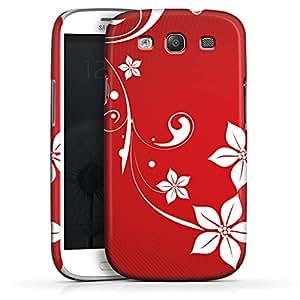 Carcasa Design Funda para Samsung Galaxy S3 i9300 / LTE i9305 PremiumCase white - Christmas Heart