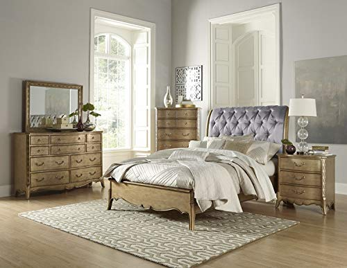 - Homelegance Chambord Eastern King Sleigh Bed