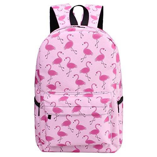 Bonama Flamingo Rucksack Fantasy Tasche Rucksack Schulrucksack Student Reisetaschen (B) C