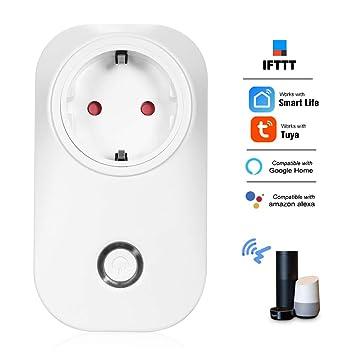 Gamogo Smart Power Plug Control de Voz de Smart Home Socket ...