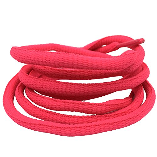 - Oval Athletic Shoelaces DELELE Half Round Shoe Laces Peach Pink 2 Pair 39.37