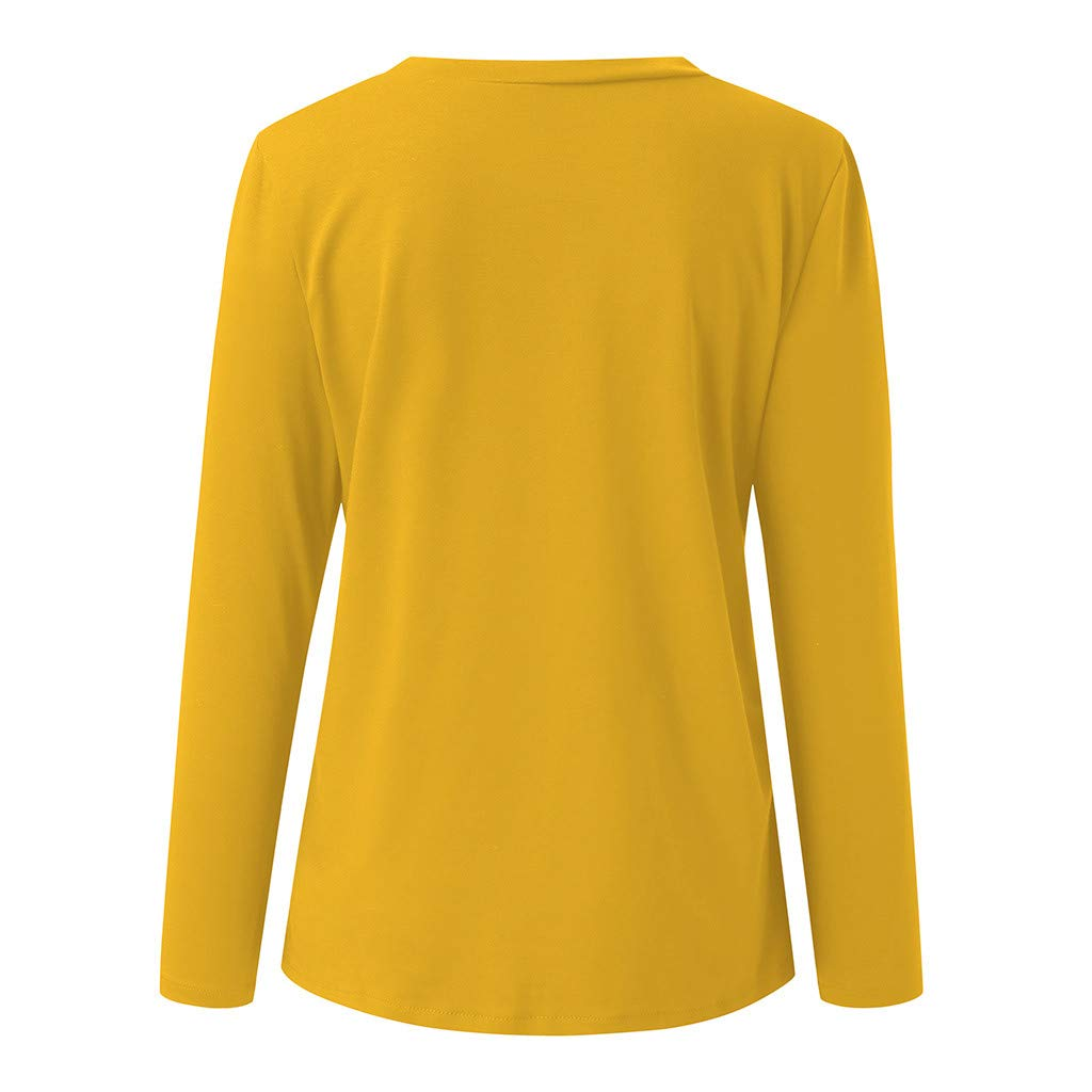 Casual Round Neck Long Sleeve Company Printed Classes Teams Blouse Shirts Size 8-16 UK BURFLY Womens Sweatshirt Tops
