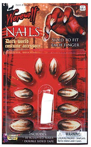 Werewolf Deluxe Nails Costume Appliance