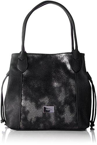 Gabor Granada Glam - Shoppers y bolsos de hombro Mujer Negro (Schwarz)