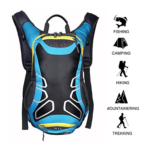 Cycling Backpack 15 L Riding Backpack Waterproo...